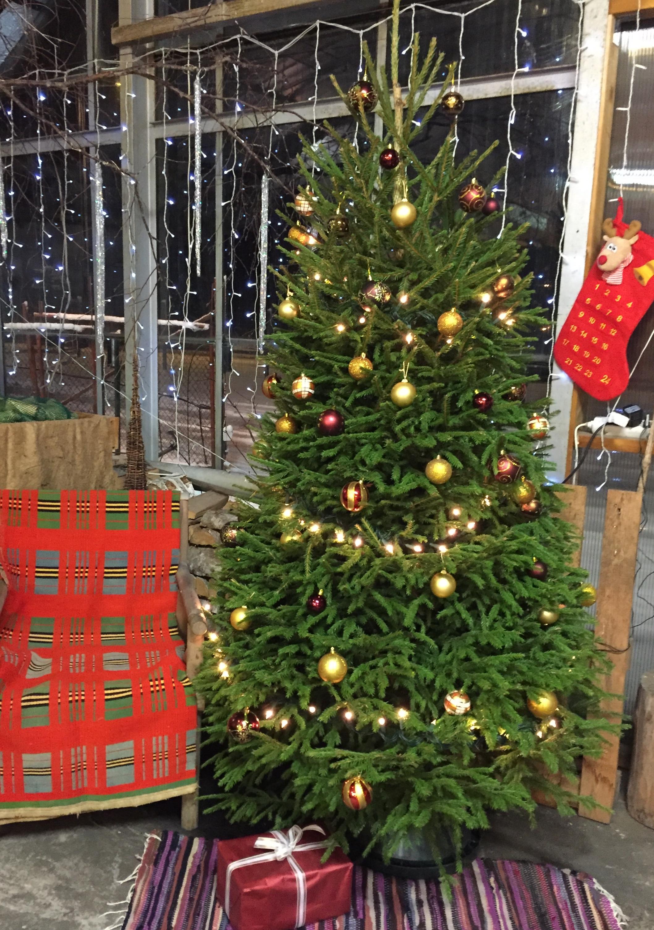 koos jõuluvana tooliga